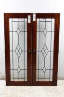 leadlight cupboard doors