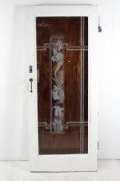 etched front door
