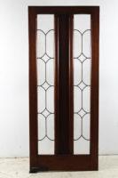 leadlight door
