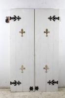 old timber doors