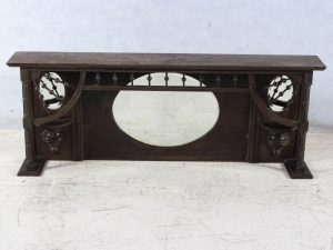 over mantle piece