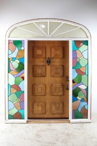leadlight front door