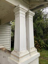 period concrete columns