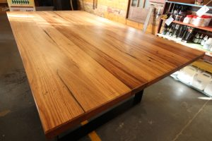 Recycled-Dark-Hardwood-Rectangular-Table